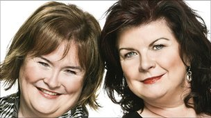 Susan Boyle and Elaine C Smith