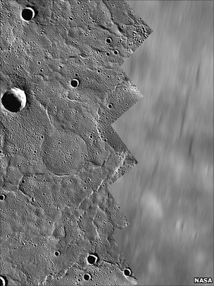 Mercury orbital images (Nasa/The Johns Hopkins University Applied Physics Laboratory/Carnegie Institution of Washington)