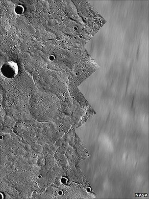 Mercury orbital images (Nasa/The Johns Hopkins University Applied Physics Laboratory/Carnegie Institution of Washington)