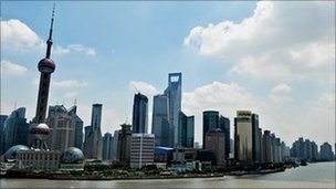 shanghai waterfront