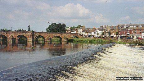 Dumfries Picture by Richard Dorrell