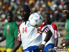 Former Liberia great George Weah