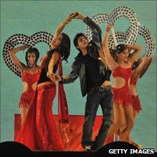 Bollywood dance sequence