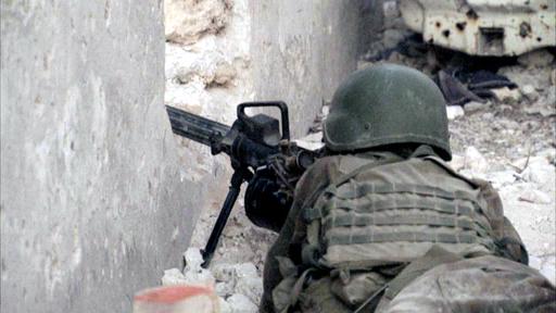 African Union soldier in Mogadishu