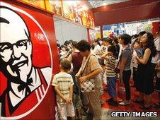 KFC, China