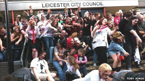 53501269 53499424 - Leicester City Council completely unprepared in the event of a zombie outbreak