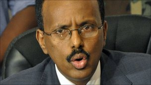 Mohamed Abdullahi Farmajo, file pic