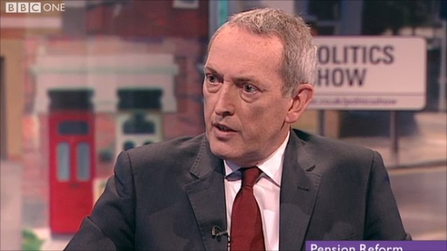 Lord Hutton on UK pension crisis