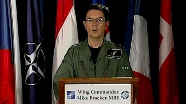 Wing Commander Mike Bracken