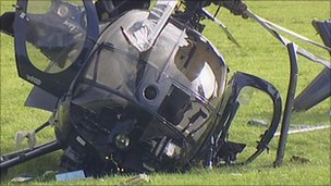 Helicopter crashes in field (Glastonbury) - PPRuNe Forums