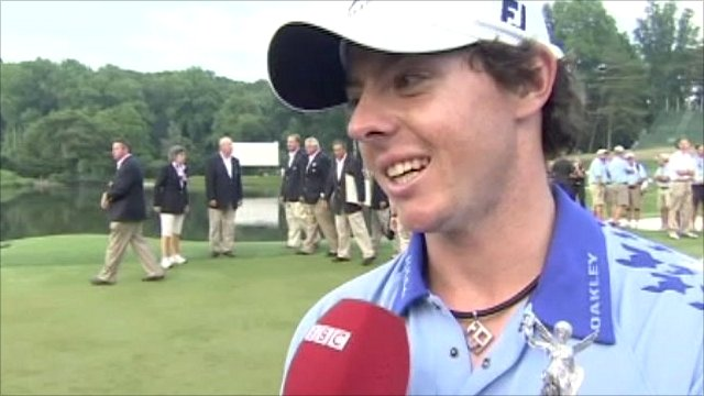 US Open champion Rory McIlroy