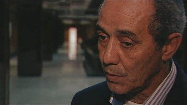 Libya rebels strategic adviser Shamsuddin Abdul Mullah