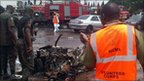 Aftermath of bomb attack in Abuja (16/06/11)