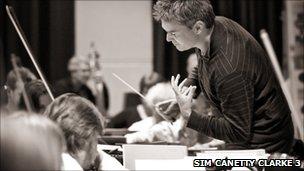 Principal guest conductor Edward Gardner