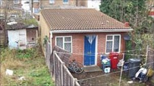 Shed in Slough
