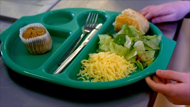 School dinner (generic)