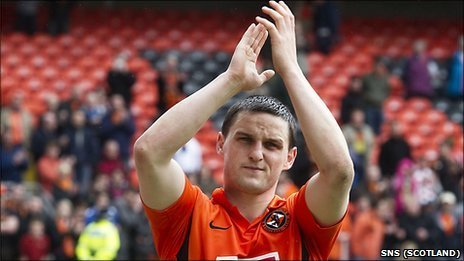 Former Dundee Utd winger Craig Conway