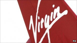 Virgin Atlantic tail fin