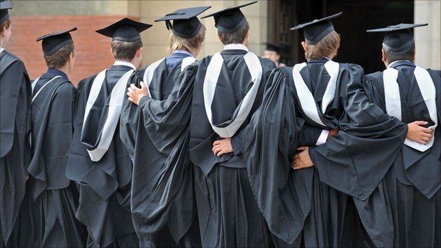 Graduation students (generic)