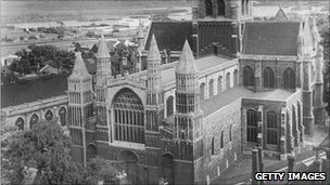 Rochester Cathedral in 1949