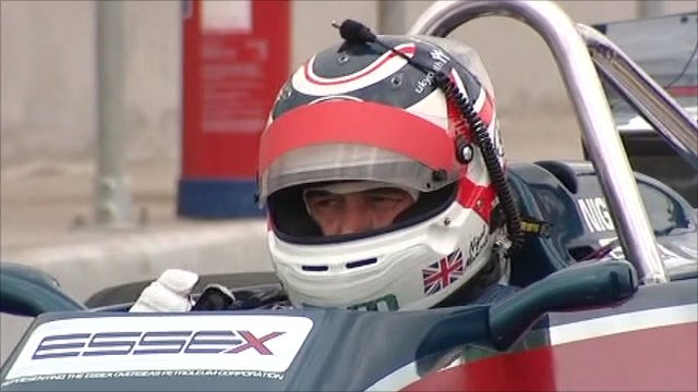 Nigel Mansell on new Group Lotus test track