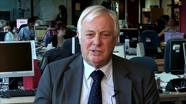 The chairman of the BBC Trust, Lord Pattern