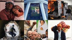 Libya montage