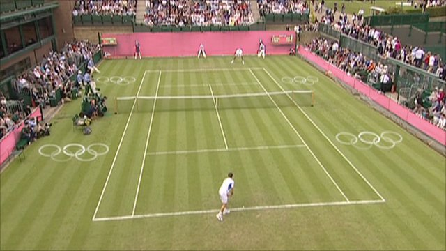 How Wimbledon's courts might look during the London 2012 Olympics