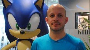 Sonic brand director David Corless