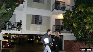 Apartment building in Santa Monica, California, where James White Bulger and Catherine Greig were arrested on 22 June 2011