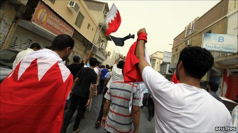 Shia protest in Manama on 3 June, 2011
