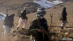 Taliban forces in Afghanistan