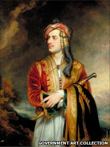 Thomas Phillips' portrait of Lord Byron