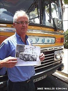 Bus driver Charlie Xerri