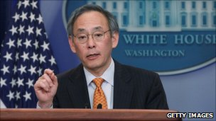 Energy Secretary Steven Chu in a March file photo
