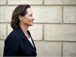 Segolene Royal in Paris, 15 June 2011