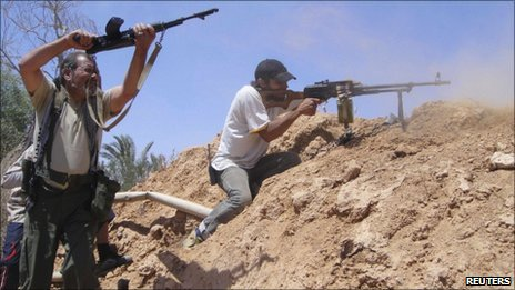 Libyan rebels. File photo