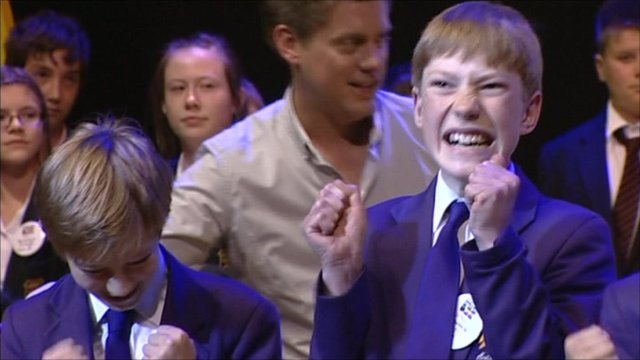 Winners of Times Spelling Bee