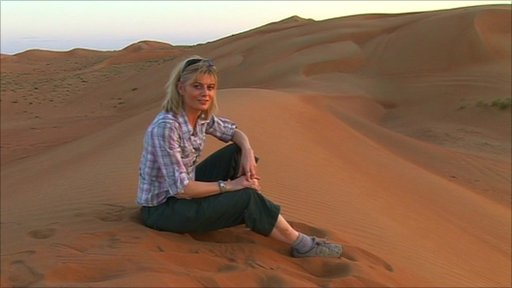 Karen Bowerman in Oman