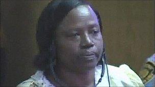 Pauline Nyiramasuhuko (Photo Courtesy of BBC News)