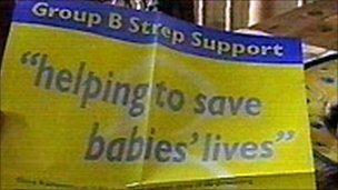 Group B Strep support poster