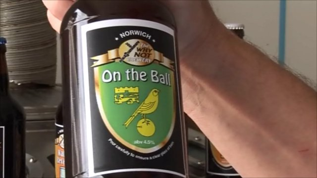 On the Ball beer