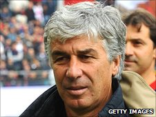 Inter Milan manager Gian Piero Gasperini