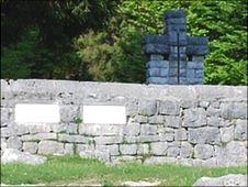 Cemetery at Granezza, Italy