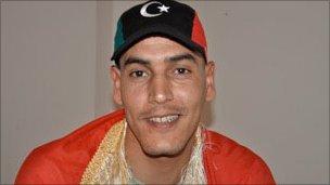 Juma Gtat, goalkeeper in national Libyan football team