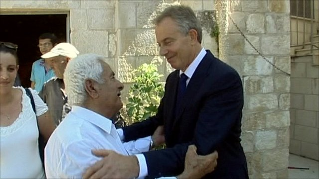 Tony Blair in the Middle East