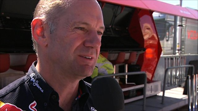 Red Bull's Adrian Newey