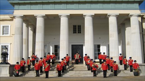 The Band of the Royal Engineers