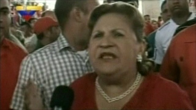 Mother of president Chavez