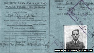 Bud Wolfe&#039;s identity card